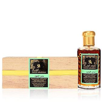 Sveitsin Arabian Sandalia Ultra Väkevä Hajuvesi Öljy ilman alkoholia (Unisex Green) Sveitsin Arabian 3,21 oz Ultra Tiivistetty Hajuvesi Öljy ilman alkoholia