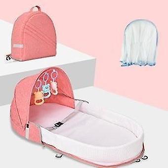 Faltbare Baby Bett Reise Bassinet, Funktionen als Windel Tasche und Ändern