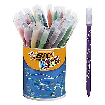 Bic kids couleur medium felt pens (pot x 36) pot of 36 kid couleur