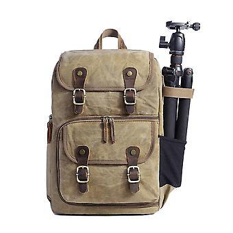 Dslr aparat płótnie plecak duża pojemność z przodu otwarty wodoodporny anty-shock slr/dslr aparat plecak wof37353