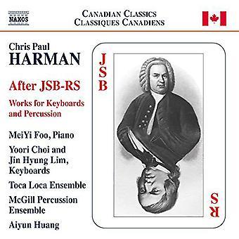 Harman / Foo / Loca / Choi / Lim - After Jsb-Rs [CD] USA import