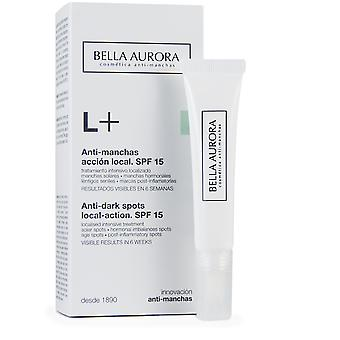 Bella Aurora L + lokalisoitu tahra hoito