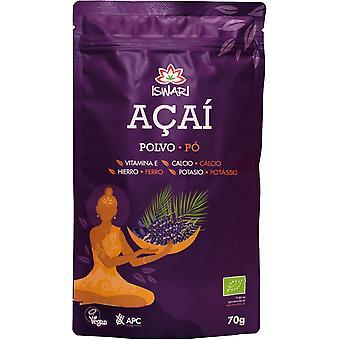 Iswari Açai Freeze Dried Powder Bio 70g