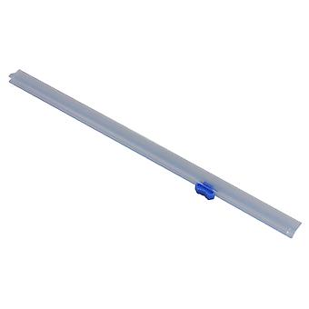 32 cm Transparent and Blue Slide Replacement Cutter for Plastic Wrap