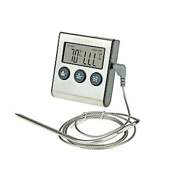 Digital Thermometer Instant Read, Long Probe Kitchen Food Milk Outdoor -50-300℃bbq Grill Monitor