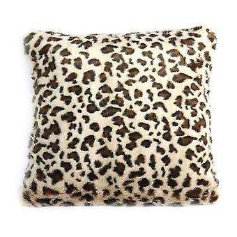 pillow animal 45 x 45 cm textile beige