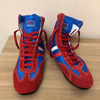 Soft Outsole Wrestling Shoes, Boxing Fighting Sneakers