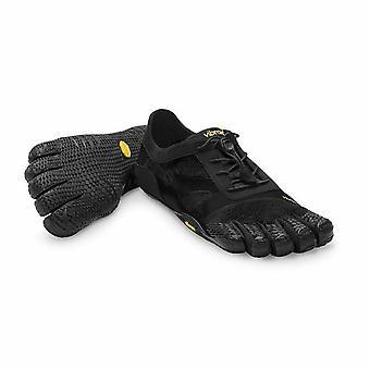 Vibram KS Evo Five Fingers Barefoot MAX FEEL Training Shoes - Black
