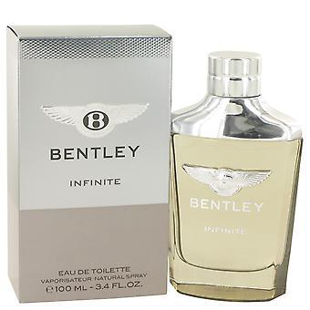 Bentley Infinite by Bentley Eau De Toilette Spray 3.4 oz