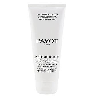 Payot Les Demaquillantes Masque D'Tox afgiftende Radiance Mask - For Normal kombination skind (Salon størrelse) 200ml/6.7 oz