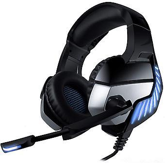 FengChun Gaming Headset fr PS4 PC Xbox One, Gaming Kopfhrer mit Mikrofon, LED Licht Stereo