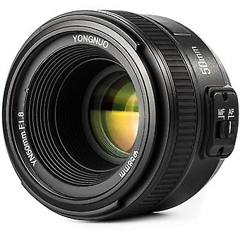 FengChun YN EF 50mm f/1.8 AF-Objektiv YN50 Blenden Autofokus für Nikon-Kameras als AF-S 50mm 1.8G
