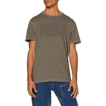 Pepe Jeans Billy T-Shirt, Green (Army 716), Unique (Size Producer: L arge) Men