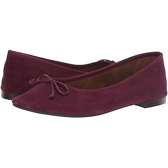 Aerosoles Mujeres's Zapatos Homerun Ballet Cuero Cerrado Dedo del Dedo del blanco Flats