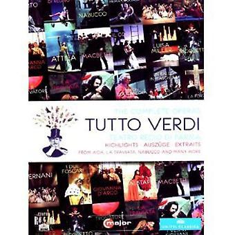 G. Verdi - Tutto Verdi Highlights [DVD] USA import