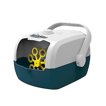 מפוח בועה אוטומטי צהוב מכונת בועה לשימוש חיצוני ופנימי x2357