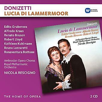 Rescigno / Gruberova / Kraus / Bruson - Donizetti: Lucia Di Lammermoor [CD] USA import