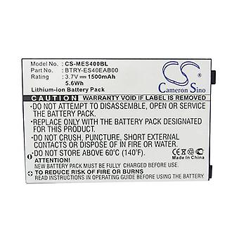 Cameron Sino Mes400Bl Battery Replacement For Symbol Barcode Scanner