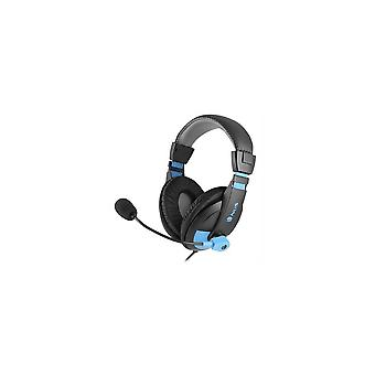 Headphone With Microphone Ngs Msx9problue