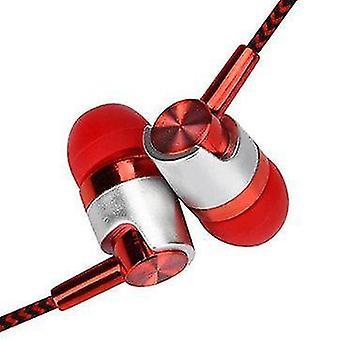 Bakeey 3,5 mm Jack In-ear-øretelefon til metalhovedtelefoner til metal med mikrofon