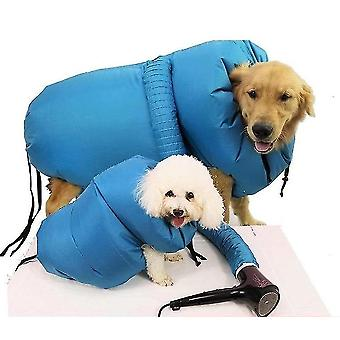 Pet Blow Dreyer Bag Horno de secado para mascotas Dog Bath Hair Blowing Bag Fast Easy Blower(L)