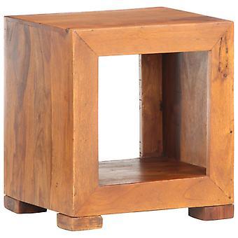 vidaXL الجانب الجدول 37x29x40 سم الخشب الصلب