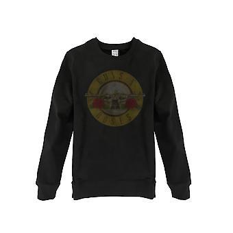 Förstärkt Guns n Roses trumma Mäns tröja