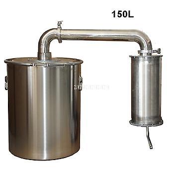 150l الفولاذ المقاوم للصدأ النبيذ تختمر آلة تقطير الخمور التقطير