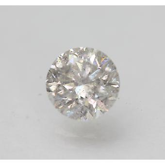Certificado 1.02 Quilates G SI2 Redondo Brilhante Natural Enhanced Diamante Solto 6.3mm