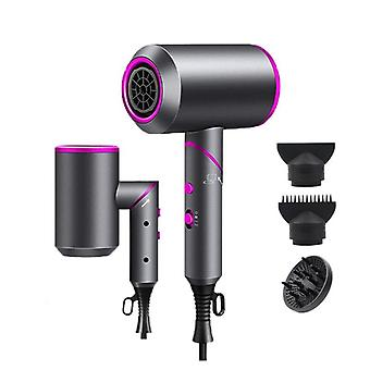 2000W professional hair dryer strong wind salon dryer hot &cold  dry hair negative ionic hammer blower electric hair dryer