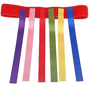 Cintura giocattolo all'aperto per bambini per catturare la coda Attrezzatura per l'allenamento Gioco di squadra