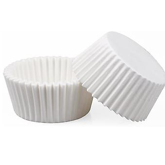 200 White Oil Paper Cups, Muffin Cup Cakes, Oil Paper Cups, Aluminum