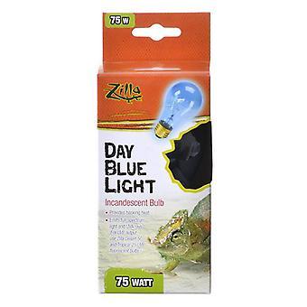Zilla Incandescent Day Blue Light Bulb for Reptiles - 75 Watt