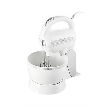 Camry Mixer CR 4213 Bowl Mixer, 300W, Number of Speeds 5, Turbo Mode, White