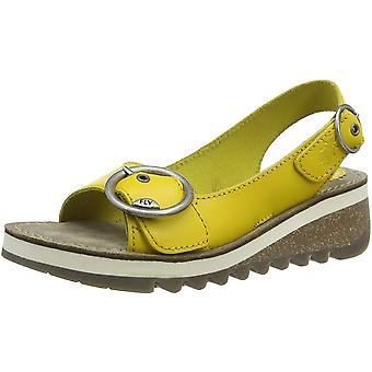 Fly London Tram 2 Wedge Slingback Sandal - Cleated Sole