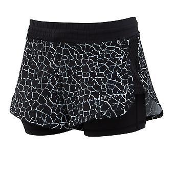 Higher State 2 EN 1 Pantalones cortos impresos para mujeres - AW21