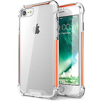 i-Blason- Apple iPhone 7 Case,Shockproof Case-Orange