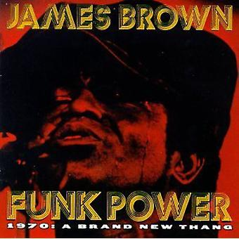 James Brown - Funk Power 1970-Brand New Thang [CD] USA import