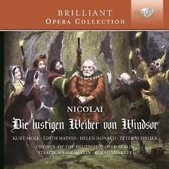 Chœur du Deutsche Oper Berlin - Otto Nicolai: importation USA Die Lustigen Wieber Von Windsor [CD]