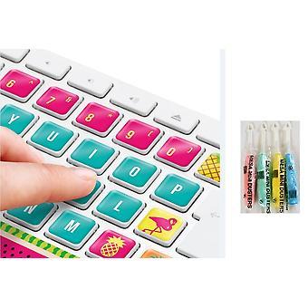 Klavye Sticker Tropikal klavye Hawaii An