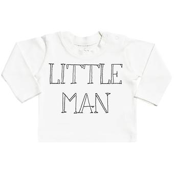 Spoilt Rotten Lttile Man White Long Sleeve Baby T-Shirt Top