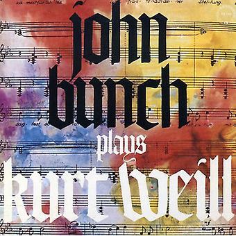 John Bunch - Plays Kurt Weill [CD] USA import