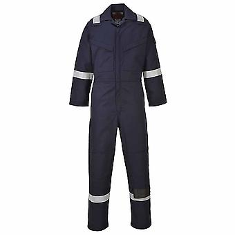 sUw - Araflame Hi-Vis Safety Workwear Gold Coverall Boilersuit