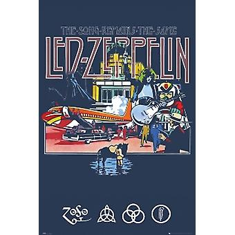 LED ZEPPELIN Song Remains The Same Poster Poster Print