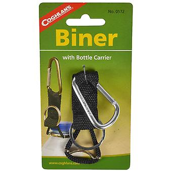 Coghlan's Carabiner with Bottle Carrier and Keychain