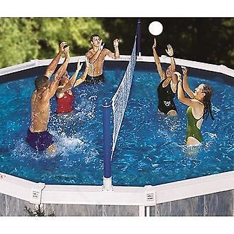 Swimline 9187SL Jammin ' Cruz piscina acima do solo de voleibol jogo 9187