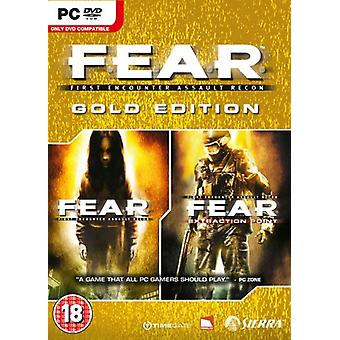 F.E.A.R. Gold Edition (PC DVD)-fabriken förseglad