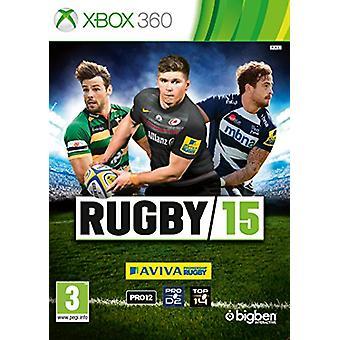 Rugby 15 (Xbox 360)-ny