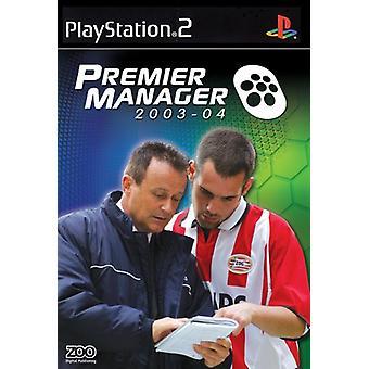 Premier Manager 2003-2004 (PS2) - Usine scellée