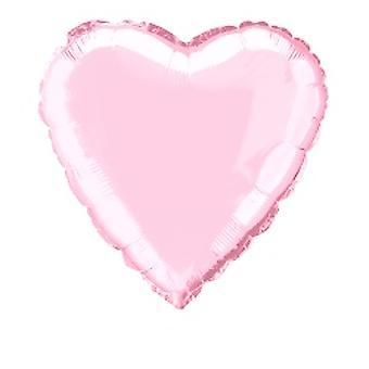 Folie ballon hart solide metalen Pastel roze